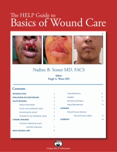 Basics Of Wound Care