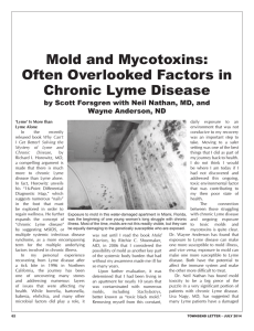 Mold and Mycotoxins: Often Overlooked Factors in Chronic Lyme