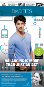 3 DIaBetes BALANCING IS MORE THAN JUST AN ACT
