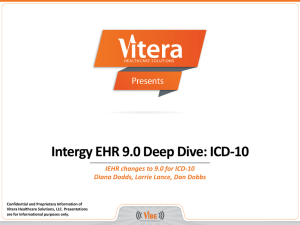 vitera intergy Vitera intergy is an industry-leading electronic health records (ehr) and practice management solution designed by clinicians and software specialists vitera intergy is a popular option for ambulatory practices of all sizes and for community health centers and imaging centers.