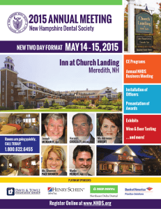 the brochure - New Hampshire Dental Society