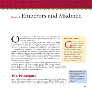 Chapter 2 Emperors and Madmen