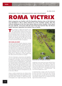 roma victrix - Ancient History Magazine