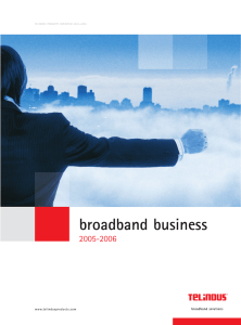 broadband business - Andatelecomindia.com