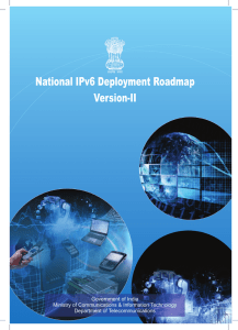 National IPv6 Deployment Roadmap ver II