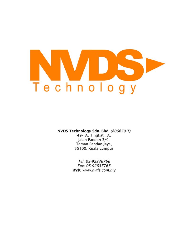 NVDS Technology Sdn  Bhd  (806679-T) 49