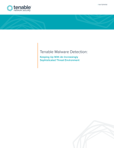 Tenable Malware Detection
