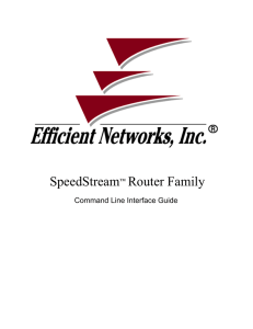 SpeedStream™ Router Family