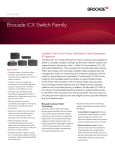 Brocade ICX Switch Family Data Sheet