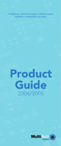 product guide -total - Embedded Industrial Solutions