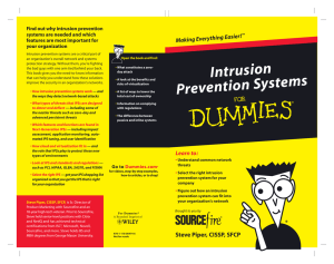 Intrusion Prevention Systems For Dummies