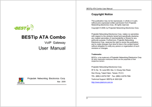 BESTip ATA Combo User Manual