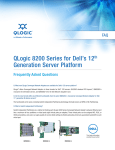 New FAQs: QLogic 8200 Series for Dell`s 12th Generation Server