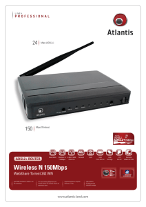 Wireless N 150Mbps - Atlantis-Land