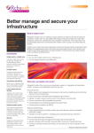 Better manage and secure your infrastructure