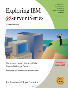 Exploring IBM iSeries