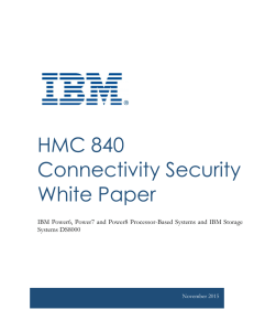 HMC 840 Connectivity Security White Paper