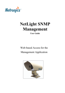 NetLight SNMP Management