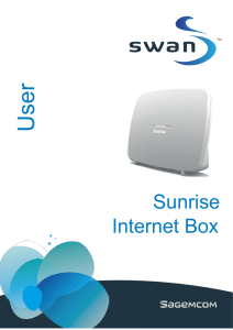 Handbuch – Sunrise Internet Box