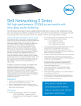 Dell Networking S Series S60 high-performance 1/10GbE access switch with