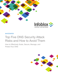Top Five DNS Security Attack Risks and How to Avoid Them