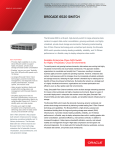 Brocade 6520 Switch Data Sheet