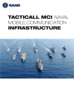 tacticall mci naval mobile communication infrastructure