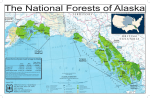 Chugach Tongass Forest Service System Land Acreage in Alaska