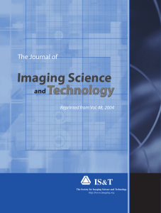Imaging Science andTechnology