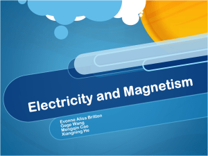 nature phenomenon of electricity and magnetism