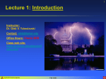 Lecture 1: Introduction to EM 1
