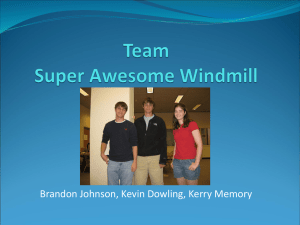 Team Super Awesome Windmill