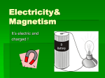 Electricity& Magnetism