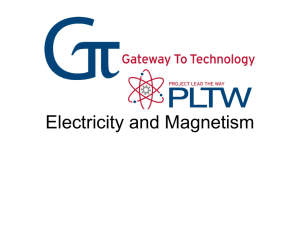Electricity and Magnetism - GTT-MOE-WMS