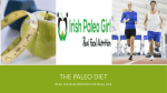 The Paleo Diet Endurance Presentation