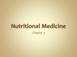 Nutritional Medicine - Harford Community College