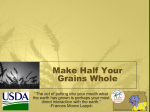 Whole Grains - Kansas Team Nutrition