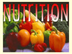 Nutrition powerpoint