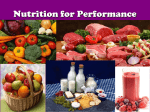 Nutrtion Intro - Food Categories & Labels - 2013