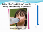 Hydration powerpoint