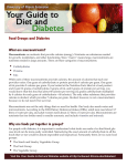 Food Groups and Diabetes What are macronutrients?