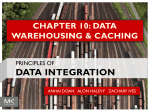 CHAPTER 10: DATA WAREHOUSING