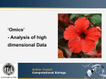 Omics - Tresch Group