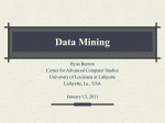 A Data Structure for Data Mining - CACS