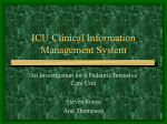 ICU Clinical Information Management System