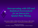 Interoperating with GIS and Statistical