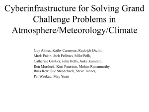 Atmosphere/Meteorology/Climate Grand Challenges
