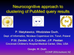 Neurocognitive Approach to Clustering PubMed