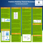 Predictive Modeling: Financial Momentum Modules Introduction Abstract