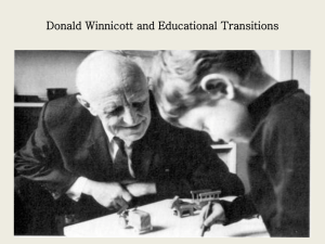 Donald Winnicott - University of Winchester